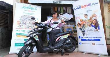 Semangat Siti Rohami Ikut Goowes Batik Okezone 2016 Berbuah Manis Sepeda Motor