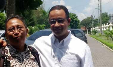 Ziarah ke Makam Jenderal Sudirman, Anies Bertemu Kawan Lama