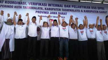 Hary Tanoe Lantik 850 DPRt Perindo Tasikmalaya dan Subang