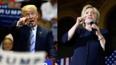 Donald Trump Kritik Kebijakan Perdagangan Hillary Clinton