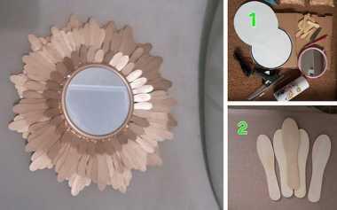 Girls, Yuk Bikin Cermin Unik dengan Stik Es Krim