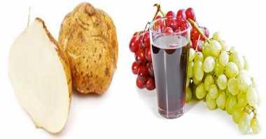 Yuk Jaga Kesehatan Mata dengan Jus Bengkuang Anggur
