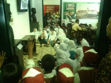 Momen 28 Oktober, Museum Sumpah Pemuda Dibanjiri Pengunjung