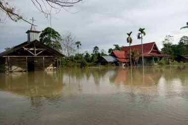 Ribuan Rumah di Luwu Utara Terendam Banjir