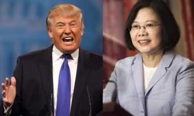 Telefon Presiden Taiwan, Trump Ambil Risiko Diplomatik dengan China