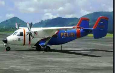 Kondisi Pesawat Polri Dikabarkan Hancur, Nasib 13 Penumpang Belum Diketahui