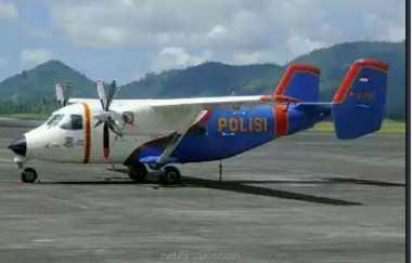 Pencarian Pesawat Polri Jatuh di Kepri Terkendala Angin & Gelombang Tinggi