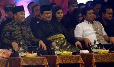 Prabowo Subianto Membuka Kejuaran Dunia Pencak Silat ke- 17