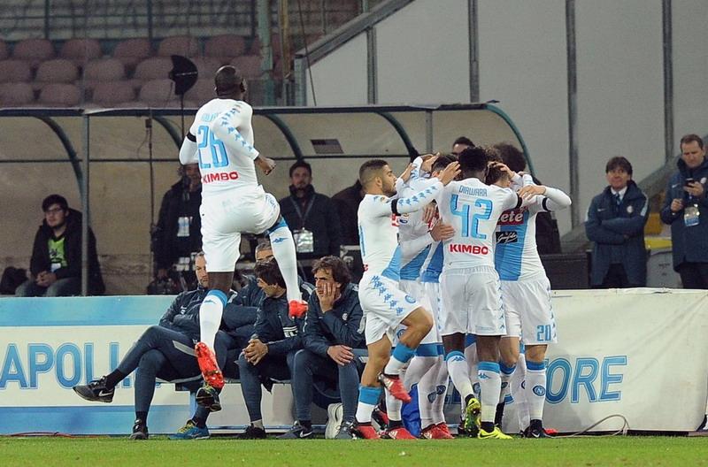 Napoli Kubur Inter Milan di San Paolo