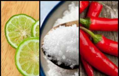 Khasiat Mencampurkan Cabai Rawit, Perasan Lemon dan Garam