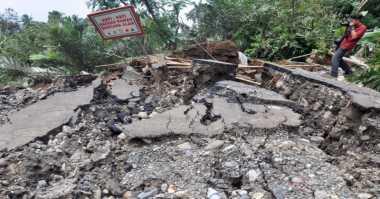 Fenomena Bencana Tanah Gerak Terjadi di Kulonprogo, Warga Resah
