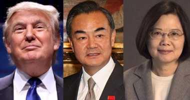China Jawab Telefon Trump & Tsai dengan 10 Uji Coba Rudal Balistik