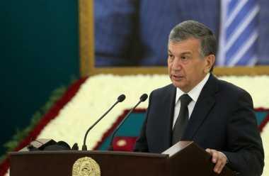 Presiden Interim Uzbekistan Dijagokan Menangi Pilpres