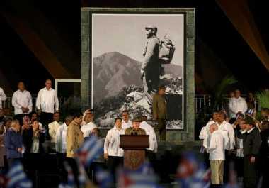 Nama Fidel Castro Tidak Akan Diabadikan di Kuba
