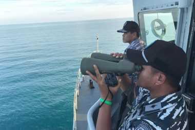 Pencarian Korban Pesawat Polri Jatuh Fokus di Titik Tumpahan Minyak