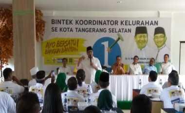 Wahidin Minta Partai Pengusung untuk Terus Sampaikan Program Besarnya ke Masyarakat
