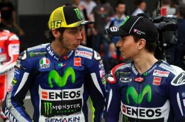 Valentino Rossi Tersanjung dengan Pujian dari Jorge Lorenzo