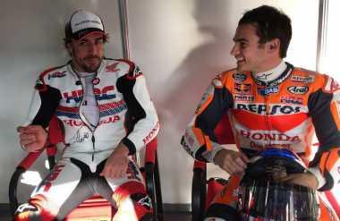 Jajal MotoGP, Alonso Dapat Arahan dari Dani Pedrosa