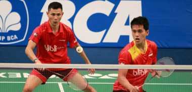 Ganda Putra Indonesia Gagal Melaju ke Final Makau Open 2016