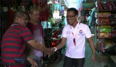 Perindo Karawang Dampingi Pedagang Pasar Anyar Cikampek