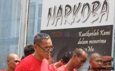 Jajaran Pejabat & Pegawai BNPT Jalani Tes Narkoba