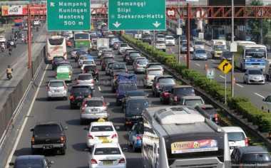 Lalu Lintas Jakarta, Semanggi dan Sudirman Padat