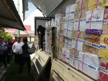 Selundupkan Satu Kontainer Miras dari Luar Negeri, Darmanto Cs Ditangkap