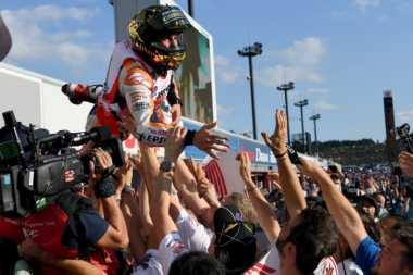 Gelaran Honda Racing Thanks Day 2016 Terasa Lebih Spesial untuk Marquez
