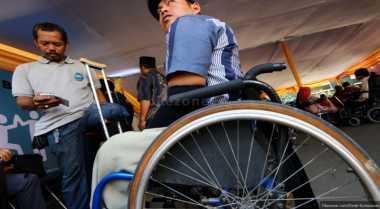 Penyandang Disabilitas Ramai-Ramai Geruduk Kantor DPRD Purworejo