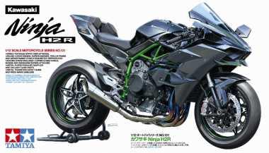 Tamiya Luncurkan Kawasaki H2R Versi Mini