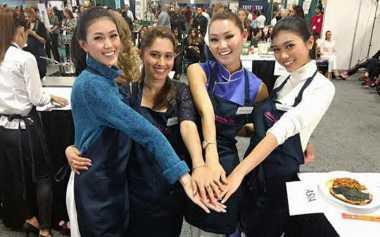 MISS WORLD 2016: Intip Makanan yang Dibuat Miss Indonesia & Outfit yang Dikenakan saat Metro Cooking DC
