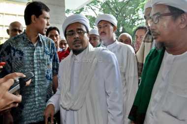 Kabar Habib Rizieq Masuk Rumah Sakit Hoax