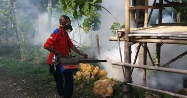 Rescue Perindo Jateng Bergerak Cepat Fogging Rumah Warga di Grobogan