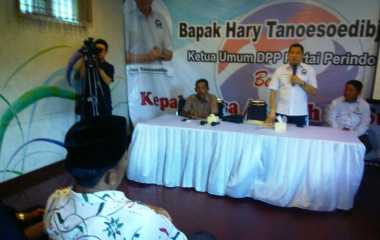 Hary Tanoe Bersilaturahmi dengan Asosiasi Kepala Desa Se-Sumenep