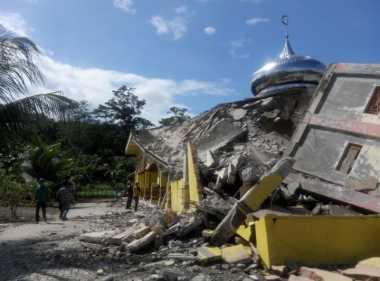 BNPB: Gempa Pidie Jaya Kuat, Bangunan Akan Roboh dengan Mudah