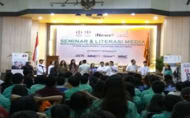 I-News TV Gelar Seminar Literasi Media & Coaching Clinic di STP Trisakti