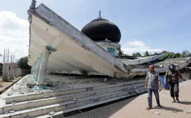 Sedang UAS, Sekolah di Pidie Jaya Diliburkan Pasca Gempa