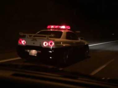 Modifikasi Tampilan, Nissan R34 GT-R Berjubah Polisi