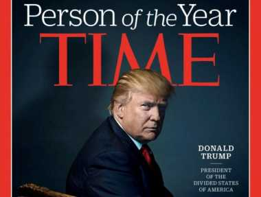 Time Nobatkan Donald Trump Sebagai Person of the Year 2016