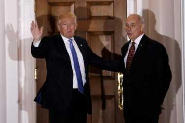 Trump Pilih Pensiunan Jenderal John Kelly untuk Pimpin DHS