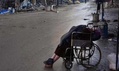 Menyayat Hati, Wanita Aleppo Meninggal di Kursi Roda saat Suami Cari Dokter