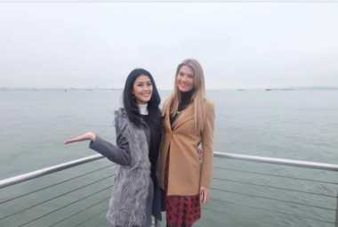 "MISS WORLD 2016 : Intip Keseruan Natasha Mannuela ""Berpesiar"" di New York"
