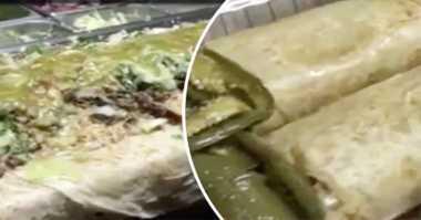 Alamak, Restoran Ini Sajikan Burrito Sebesar Anaconda!
