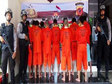 10 Hari, 18 Pelaku Curas Diringkus di Bogor