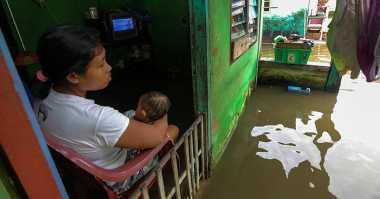 Pemukiman Terendam Banjir 2 Meter, Ratusan Warga Mesuji Mengungsi