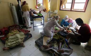 Korban Gempa Aceh Terima Bantuan Sayur Mayur