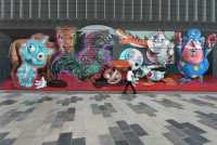 Seniman Jalanan Kini Warnai Ruang Terbuka Dubai