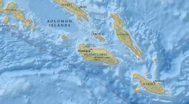 BREAKING NEWS: Kepulauan Solomon Diguncang Gempa 7,7 SR