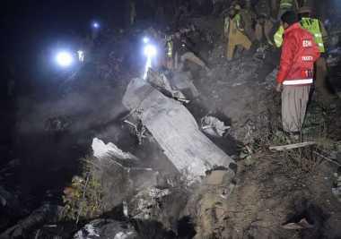 DNA Digunakan untuk Bantu Identifikasi Korban Pesawat Jatuh Pakistan