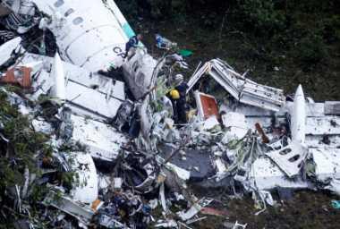Bos Pesawat Jatuh di Kolombia Dibui hingga Penyelidikan Selesai